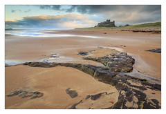Durham's Heritage Coast (Phil Durkin) Tags: 2016 bamburghbeach bamburghcastle dunstanburghcastle northumberland phildurkin sea sunset longexposure roker seascape water rocks shoreline