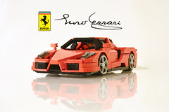 Enzo Ferrari (rjl458) Tags: ferrari enzo lego