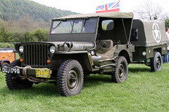 Willys Jeep US Army DUJ179B-USA2017607 (NTG's pictures) Tags: spectacular army us jeep derbyshire bakewell willys showground duj179busa2017607
