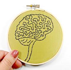 DSCN2021.jpgBrain Anatomy Hoop Art. Hand Embroidered Wall Decor (Hey Paul Studios) Tags: psychiatry creativity embroidery zombie brain health mindfulness alzheimers mental socialwork positivethinking hoopart medicalart