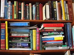 P6120335 (caligula1995) Tags: reading books 2014 shelfie