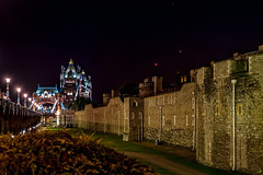 The Tower of London at night (stephanrudolph) Tags: city uk england urban london architecture night ancient nikon europa europe wideangle gb handheld architektur d700 1424mm 1424mmf28g