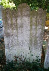 Shadrack headstone