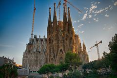 La Sagrada Família Basilica in Barcelona, Spain (CamelKW) Tags: barcelona church spain catholic basilica gaudí lasagradafamília spain2014