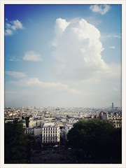 Sky over Paris
