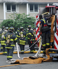 New Rochelle 2nd Alarm Fire 7/19/14 (zamboni-man) Tags: new rescue fire control chief pipe working attack engine msu alf pierce operations ladder newrochelle firefighters officer 60 westchester rochelle fireground strucutre nrfd
