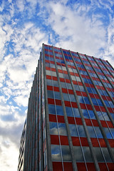 reflections of a forgotten sky (keith midson) Tags: sky building architecture clouds reflections tasmania hobart