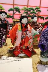 Poupées en tissu chirimen (So_P) Tags: japan doll expo impact puppe 2014 poupée 15e