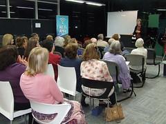 Writefest 2012 author talk