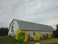 (andres musta) Tags: barn island spring mural prince edward valley kensington pei