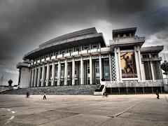 Hamhung Grand Theatre (Clay Gilliland) Tags: travel holiday hotel scenery asia tour north korea falls northkorea dprk northkoreatour youngpioneertours dprktour