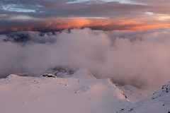 Rifugio Citt di Mantova (Benjamin-H) Tags: sunset italy mountain snow alps ice clouds landscape golden switzerland panasonic mountaineering lx7 montarosa rifugiocittdimantova mantovahut benjaminhallphotocom gresonney