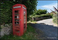 Castlemoor phone box (Gareth Harper) Tags: red public scotland coin call phone box telephone british kiosk bt operated telecommunications 2014 mullofgalloway photoecosse castlemoor