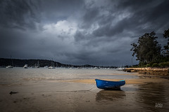 Stranded (Mike Hankey.) Tags: storm landscape boats published churchpoint