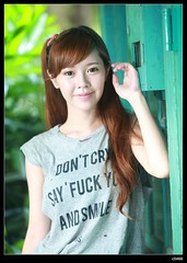 nEO_IMG_DP1U7553 (c0466art) Tags: show light portrait cute girl beautiful smile canon big eyes pretty sweet quality south taiwan lovely charming  kaoshiung outdoot 1dx c0466art
