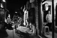 Snapshot_0438 (Huang Qing) Tags: china street blackandwhite bw monochrome night dark 28mm streetphotography snap gr ricoh
