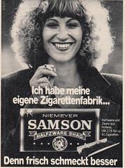 1977 (dykthom1000) Tags: werbung 1977