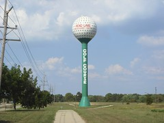 Rend Lake Golf Course Water Tower (Coalminer5) Tags: golf watertower golfcourse golfball inail franklincountyil franklincountyillinois