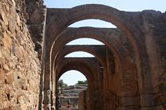 Teatro Romano (Isabel Marias) Tags: espaa spain romano merida augusta emerita extremadura imperio