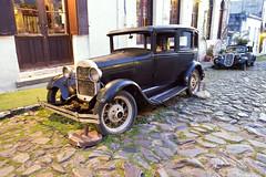 1927 Ford Model A (Curtis Gregory Perry) Tags: black ford car del sedan modela uruguay nikon automobile traction citron colonia sacramento 1928 avant 1927             d800e
