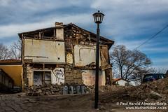 Derelict Building in Plovdiv, Bulgaria