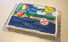 Beach Cake by Carla, Linn County, IA, www.birthdaycakes4free.com