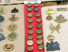 R.A.F.Buttons (DaveWilcock) Tags: world two war buttons raf 46 lytham1940sweekend 52in2014
