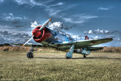 Mighty Yak 11 HDR (Scott Cartwright Photography) Tags: canon historic hdr yak11 russianfighter canon5dmk3 scottcartwright shrewsburyphotographer sleapairfield shropshirephotographer shrewburyfreelancephotographer scottcartwrightphotography shropshirefreelancephotographer shrewsburyprofessionalphotographer highdyrnamicrange