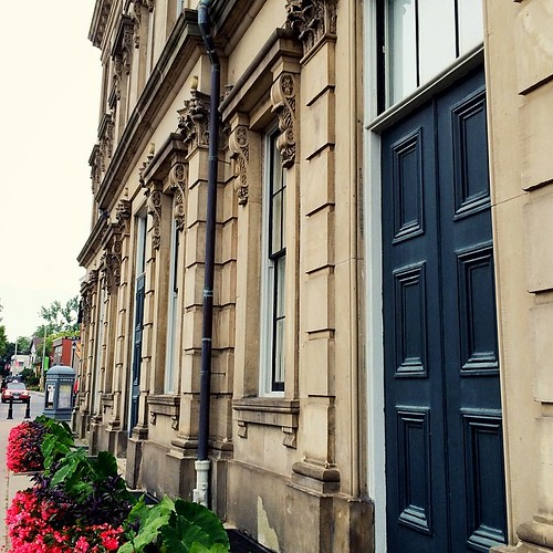 #Coburg's Victoria Hall (1860) feels so much like Toronto's St. Lawrence Hall. Different architects though... We checked!
