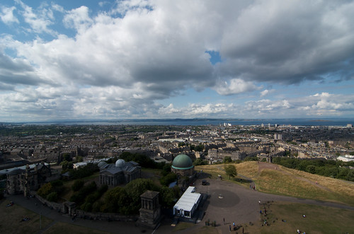 Calton Hill Observatory & Collective Gallery ©  Still ePsiLoN
