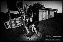 the fear behind the beauty (check4newton) Tags: portrait people bw girl beauty face person erotic fear porträt angst crimetime shönheit wwwjoergoestreichcom