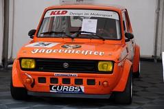 Fiat 127 Abarth (1978) (Jerome Servais) Tags: tourism club vintage deutschland fiat von grand racing historic prix oldtimer gt nuerburgring jagermeister deutsche revival nordschleife nurburgring automobil nurburg avd nrbugring automobi deutscge
