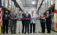 08-28-2014 Montgomery Area Food Bank Expansion Grand Opening and Ribbon Cutting