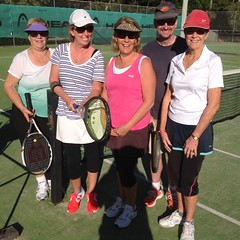 Wednesday morning crew 2014 - Helen Butcher, Leanne Bryant, Colleen Carberry, Rick Farndon, Noela Flowers