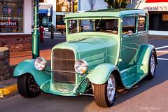 4155 Ford Model A Sedan (Organized Chrome) Tags: auto car automobile paint automotive chrome restored hotrod customized modified custom sidney carshow streetrod 2014 prio showandshine beaconavenue torquemasters