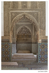 Marrakech 2014 - XX (LuisCarlos_) Tags: door travel puerta viajes morocco arab maroc arabe tumbas medina marruecos tombs tombeaux saadiens saadies
