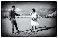 Wedding (siebe ) Tags: wedding sea holland beach dutch strand groom bride couple scheveningen nederland thenetherlands trouwen 2014 bruiloft bruidspaar trouwfoto trouwreportage bruidsfotografie bruidsfoto siebebaardafotografie