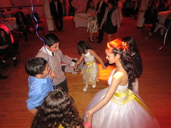 Kenia Nunez Leon, Audrey Izaguirre Nunez, Nya Jimenez at Quinceañera party (RYANISLAND) Tags: birthday family girls girl 14 15 birthdayparty spanish espanol latin latino hispanic latina 2014 quinceañera