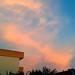 Pink/Orange clouds