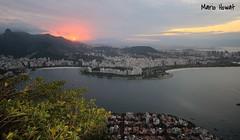 Praias de Botafogo e do Flamengo (mariohowat) Tags: sunset riodejaneiro natureza prdosol urca crepsculo praiadoflamengo praiadebotafogo praiasdoriodejaneiro