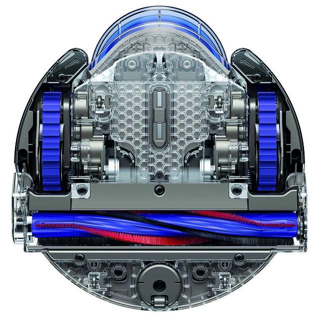 毛刷長度延伸至整個吸塵器的寬度,吸力覆蓋範圍極廣