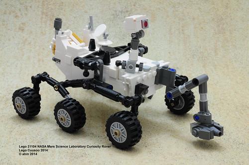 Lego Cuusoo 21104 Nasa Mars Science Labortory Curiosity Rover #005.