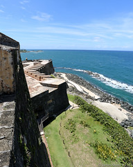 20140830 5DIII Puerto Rico 71 (James Scott S) Tags: ocean old travel vacation castle tourism canon scott puerto james san day juan puertorico fort weekend getaway labor s tourist atlantic rico sanjuan gps geotag ef 1740 5diii