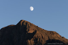 """Moon over Wynn Mountain • <a style=""""font-size:0.8em;"""" href=""""http://www.flickr.com/photos/63501323@N07/15013383758/"""" target=""""_blank"""">View on Flickr</a>"""
