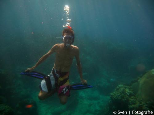 Sven the snorkel-King.