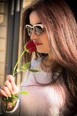 DSC_6179 (rawanhaidar97) Tags: red baby black flower love girl photo nikon photographer sweden taken rosa pic