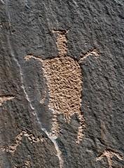 Petroglyph / Hidden Valley Site (Ron Wolf) Tags: archaeology utah fremont nativeamerican petroglyph hiddenvalley anthropology rockart blm anthropomorph anthromorph