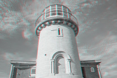 Eastbourne and Beachy Head 3D (Alexander Savin) Tags: sea chalk stereoscopic 3d britain anaglyph cliffs stereo eastbourne stereography beachyhead s3d