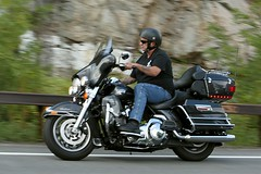 Harley-Davidson Ultra Classic 1408239257w (gparet) Tags: bearmountain bridge road scenic overlook motorcycles goattrail goatpath windingroad curves twisties motorcycle outdoor sport vehicle bike wheel motorcyclist