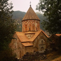 Dadivank - #Armenian 9th century monastery located between #Karvachar and #Martakert regions of #Artsakh (Nagorno-#Karabakh) Republic